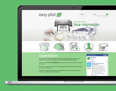 Layout Website Easyplot