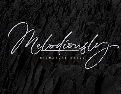 Melodiously Script