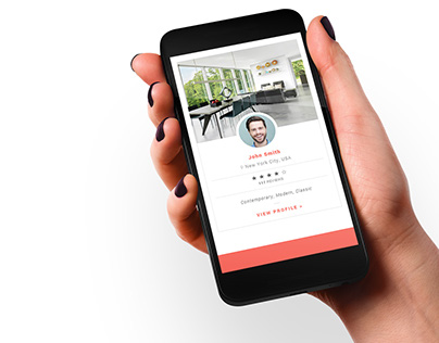 Interior Designers - website concept
