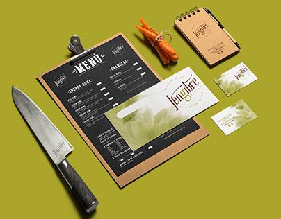 Jengibre Mercado & Cocina | Branding