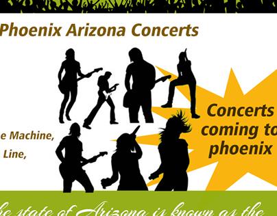 Phoenix Arizona concerts
