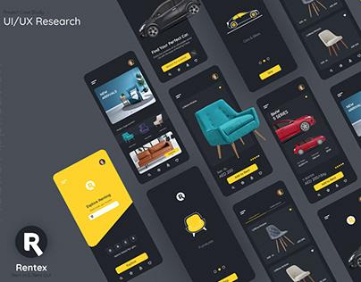 Rentex App_UI/UX Research