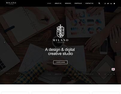 Milano Ideas Website