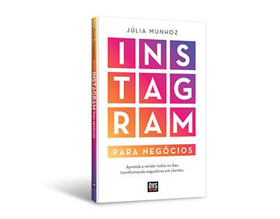 """Cover design of """"Instagram para negócios"""""""