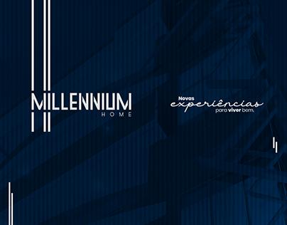 Branding Millennium Home | Pillares | Julho 2019