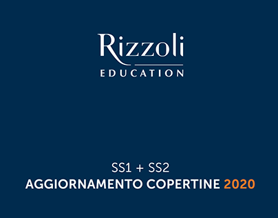 Rizzoli Education - Cover Guidelines SS1-SS2
