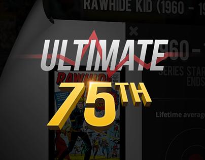Dataviz - 75 years of Marvel