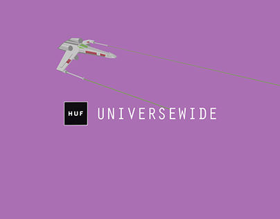 HUF // UNIVERSEWIDE
