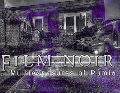 Film Noir • Multiexposures of Rumia