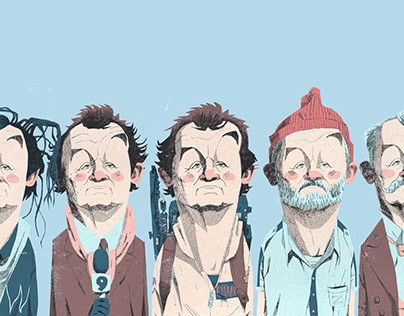 Bill Murray Portraits