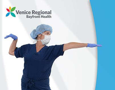 Venice Regional Hospital Elevator Wrap Campaign