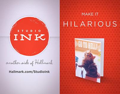 Hallmark StudioInk: Snapchat Ads