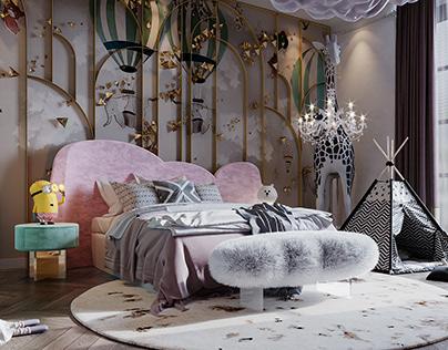 - LUXURY GIRL BEDROOM -