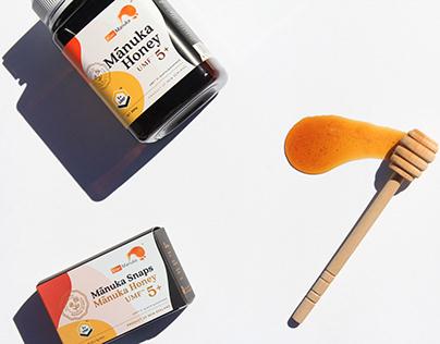 Kiwi Manuka Mānuka Honey