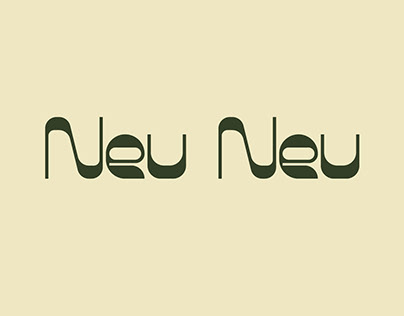 Neu Neu - A display font