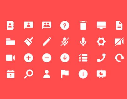 Webinar Icons