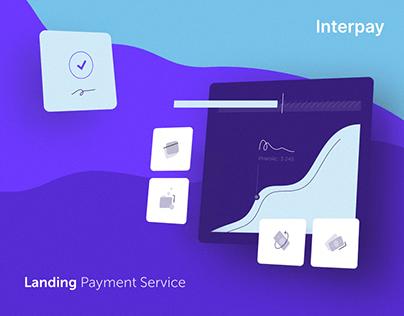 Interpay Payment Service - Landing Design
