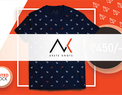 AreteKnots Pvt. Ltd. (Branding | T-Shirt Design)