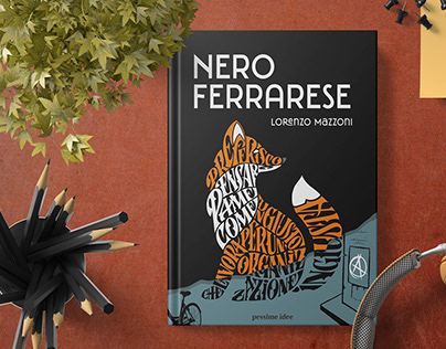 Nero Ferrarese - Book Cover Illustration and layout