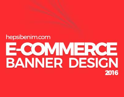 E-Commerce (hepsibenim.com) Banner Design