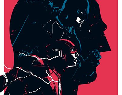 BATMAN/FLASH Multiverse Poster Art