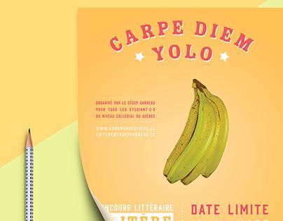 carpe diem / yolo : concours littéraire