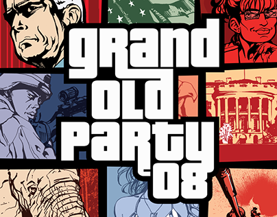 Grand Old Party '08 Poster