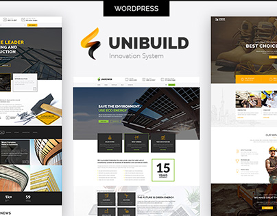 Unibuild | Technology Companies and Business WordPress