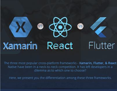 Xamarin vs React vs Flutter