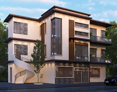 3D House Extension At Terre-Rouge KBC, MAURITIUS