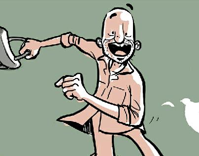شوية ورق comic
