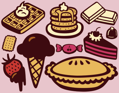 Mr Foodie, a set of 825 food & kitchen icons