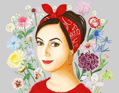 Portrait of Faiza guene