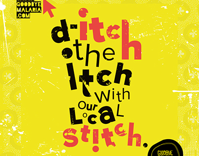 d-itch the itch - Goodbye Malaria Campaign // 01