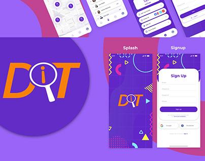 Discover App Ui designs