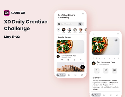 Adobe XD Daily Creative Challenge May 11-22