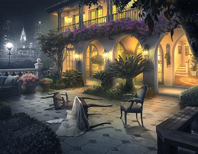 Sin City Hidden objects game in style noir