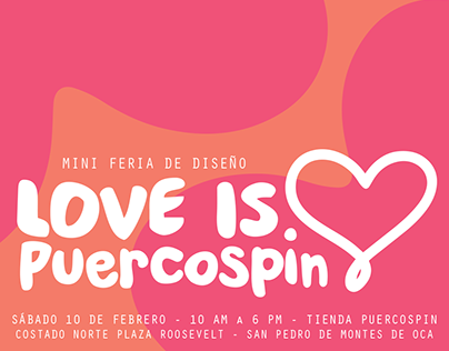 Feria de Diseño: Love is PuercoSpin