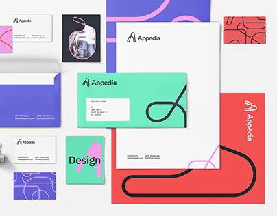 Appedia brand design.