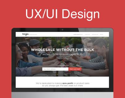 UX / UI Design for Monger