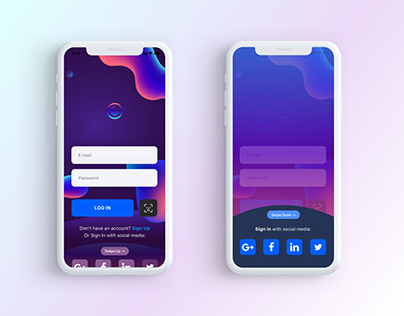 Daily Ui Challenge #001 Sign In