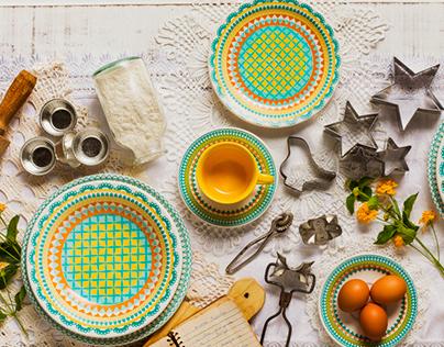 Aparelho de Jantar e Café Bilro • Oxford Daily