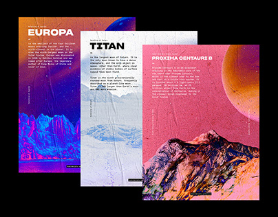 Interstellar Surface // Poster Series