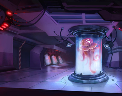 Sci-Fi Interior Concept