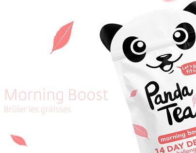 Panda Tea - Packaging