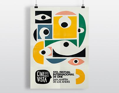 Cine a la Vista Film Festival - Branding