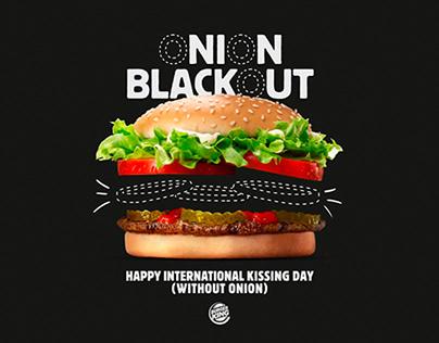 Burger King / Onion Blackout / Promo