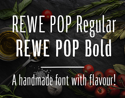 REWE Dein Markt | Display Typeface for campaign