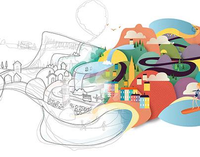 Groupmail Hero Image Illustration