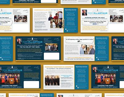 Congressman Tom MacArthur Direct Mail Campaign